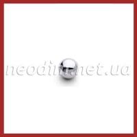 Магнит шарик никель D 10 мм