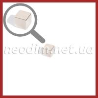 Магнит куб 10-10-10 мм, фото 1