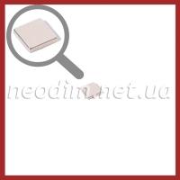 неодимовый магнит квадрат 9,5х9,5х2мм, фото 1