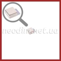 неодимовый магнит квадрат 10х10х5мм, фото 1