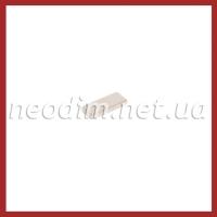 неодимовый магнит прямоугольник 15x6x2 мм, фото 1