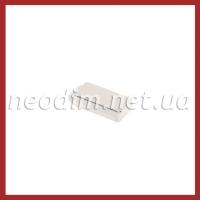 неодимовый магнит прямоугольник 20x10x5 мм, фото 1