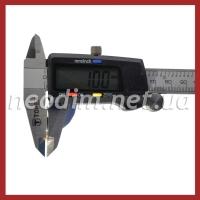 Магнит самоклейка Ø D20 mm х H1 mm (3м) фото 4