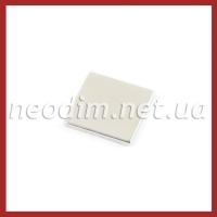 неодимовый магнит квадрат 20х20х2мм, фото 1