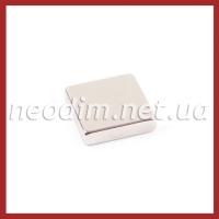 магнит квадрат 20х20х5 мм, фото 1