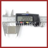 магнит квадрат 20х20х5 мм, фото 3