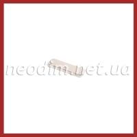 неодимовый магнит прямоугольник 38SH 20x6x2 мм, фото 1