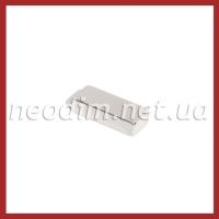 неодимовый магнит прямоугольник 25x10x6 мм, фото 1