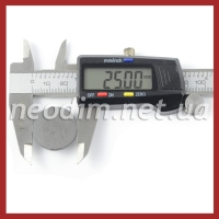 Ферритовый магнит D 25-3 мм, фото 2