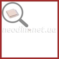 неодимовый магнит квадрат 2х2х1мм, фото 1