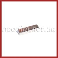 неодимовый магнит прямоугольник 30x8x5 мм, фото 1