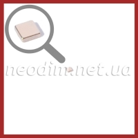 неодимовый магнит квадрат 3х3х1мм, фото 1