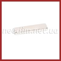 неодимовый магнит прямоугольник 40x10x4 мм, фото 1
