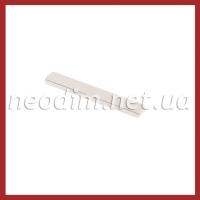 неодимовый магнит прямоугольник 38SH 40x6x2 мм, фото 1