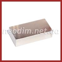 неодимовый магнит прямоугольник 50x25x12 мм, фото 1