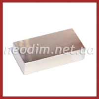 неодимовый магнит прямоугольник 50x25x15 мм, фото 1