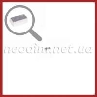 неодимовый магнит прямоугольник 5х2 мм, фото 1