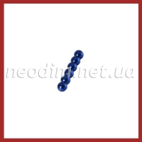 Магнитные шарики синий цвет
