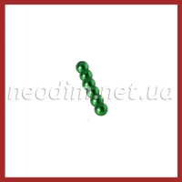 Магнитные шарики зелёный цвет