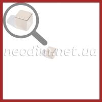 Магнит куб 6-6-6 мм, фото 1