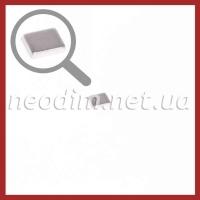 неодимовый магнит прямоугольник 7x6x1.5 мм, фото 1