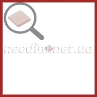 неодимовый магнит квадрат 7х7х1мм, фото 1