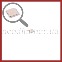 неодимовый магнит квадрат 7х7х1,5мм, фото 1