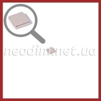 неодимовый магнит квадрат 7х7х2мм, фото 1