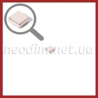 неодимовый магнит квадрат 7х7х3мм, фото 1