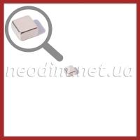 неодимовый магнит квадрат 7х7х4мм, фото 1
