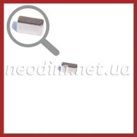 неодимовый магнит прямоугольник 8,5x3,4x4,5 мм, фото 1