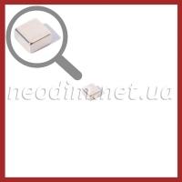 неодимовый магнит квадрат 8х8х4мм, фото 1