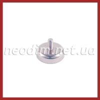 Магнит в корпусе с наружной резьбой С25 - фото 1
