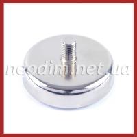 Магнит в корпусе с наружной резьбой С60 - фото 1