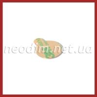 Магнит самоклейка Ø D12 mm х H1 mm (3м) на фото