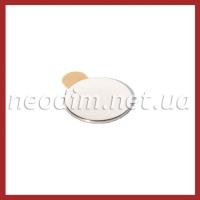 Магнит самоклейка Ø D20 mm х H1 mm (3м) фото 1
