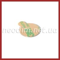 Магнит самоклейка Ø D20 mm х H1 mm (3м) фото 2