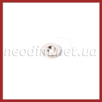 Магнит с зенковкой D14-d7/3,5хh3 мм