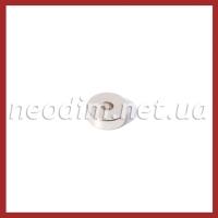 Магнит с зенковкой D15-d7,5/4,5хh5 мм с другой стороны