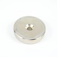 Магнит в метал. корпусе под потай A48, фото 6
