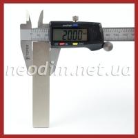 Магниты - прямоугольники 100x20x5 мм, фото 3