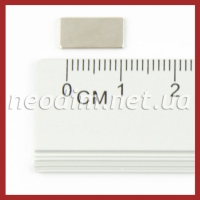 Магнит прямоугольник 12x6x1 мм, фото 1