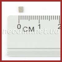 Магнит - прямоугольник 5x1.5x1 мм. Фото 1