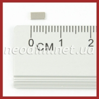 Магнит-прямоугольник 5x2.5x1 мм. Фото 1