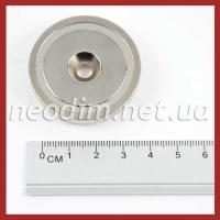 Магнит в метал. корпусе под потай A42, фото 1