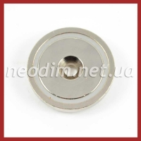 Магнит в метал. корпусе под потай A42, фото 2
