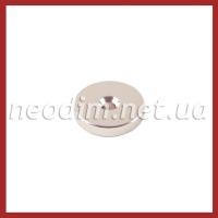Магнит с зенковкой Ø D25 - 7,5/4,5 х H5