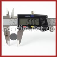 Ферритовый магнит D 15-3 мм фото 3
