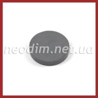 Ферритовый магнит D 25-4 мм, фото 1