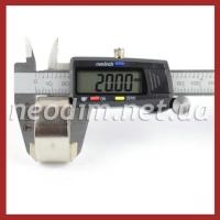 Магнит диск D 40-20 мм, фото 3